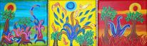 Sonne, Blüte, Pflanzen, Meer