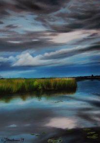 Natur, Wasser, See, Landschaft
