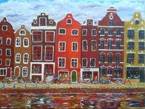 Amsterdam, Malerei, Fahren