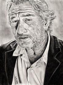 Zeichnung, Bleistiftzeichnung, Portrait, Zeichnungen