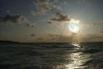 Mond, Fotomontage, Meer, Fotografie