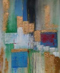 Malerei, Farben, Modern, Abstrakt