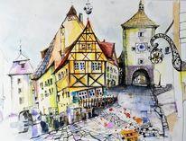Fachwerk, Haus, Stadt, Historische altstadt