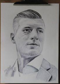 Portrait, Kuli, Toni kroos, Zeichnung
