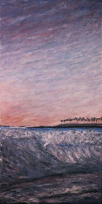 Abstrakt, Acrylmalerei, Meer, Malerei