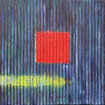Quadrat, Abstrakt, Acrylmalerei, Malerei