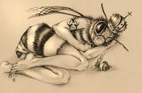 Bienensterben, Bienenkönigin, Biene, Tod