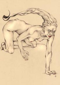 Neugier, Skorpionsfrau, Liste, Metamorphose