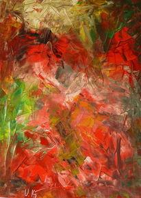 Abstrakt, Spachtel, Malerei,