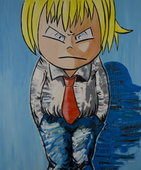 Manga, Malerei, Pop art, Meins