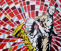 Menschen, Pop art, Gewalt, Tarot