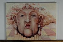 Ölmalerei, Malerei, Skuril, Figural