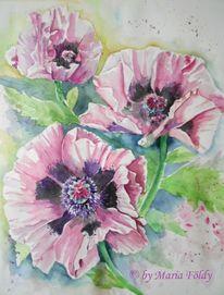 Lila, Sommer, Pflanzen, Dekoration
