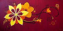 Kreis, Ölmalerei, Abstrakt, Malerei