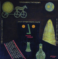 Hommage, Klee, Malerei,