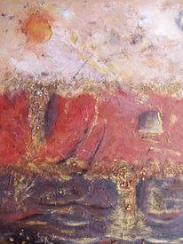 Rot, Braun, Beige, Struktur