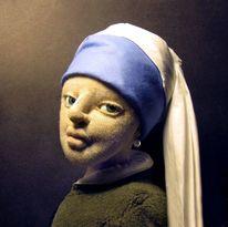 Frau, Jan vermeer, Puppe, Portrait