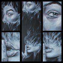 Surrealistisch, Malerei, Ölmalerei