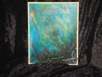 Malerei, Mosaik, Kachel, Abstrakt