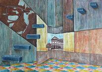 Trier, Portrait, Kunsthochschule, Stilisieren