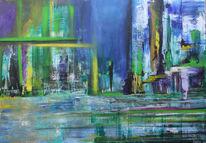 Komposition, Malerei, Horizont, Vertikal