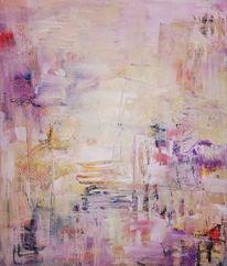 Abstrakt, Acrylmalerei, Komposition, Malerei