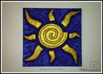 Menschen relief, Sonne, Abstrakt, Fantasie