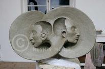 Kopf, Ton, Skulptur, Gesicht