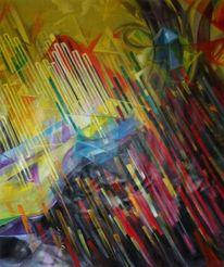Malerei, Linke, Triptychon