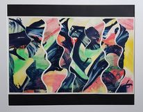 Acrylmalerei, Collage, Mischtechnik