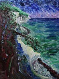 Rügen, Ostsee, Küste, Malerei