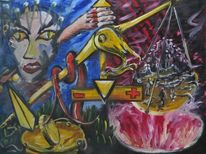 Justicia, Malerei