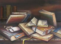 Stille, Leben, Stillleben, Buch
