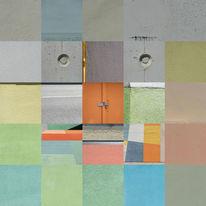 Gesicht, Berlin, Bart, Quadrat