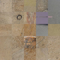 Berlin, Veilchen, Fassade, Quadrat