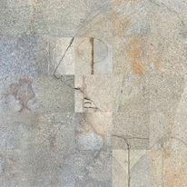 Mausangst, Sepp arnemann, Gehwegplatten, Gesicht