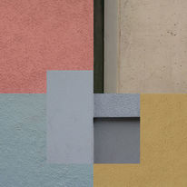 Bunt, Collage, Berlin, Quadrat