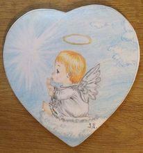 Engel, Flügel, Kind, Fliegen