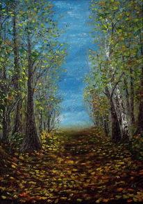 Malerei, Übergang