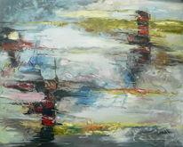 Gemälde, Ölmalerei, Abstrakt, Schnell