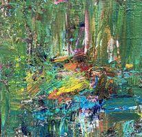 Grün, Malerei