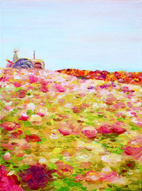 Farben, Wärme, Frühling, Landschaft