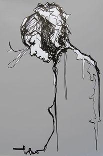 Stückchen, Graffiti, Akt, Streetart
