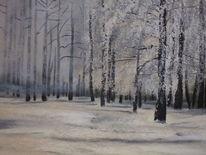Malerei, Bosque
