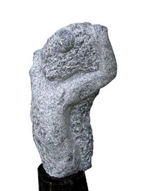 Figural, Skulptur, Modern, Granit