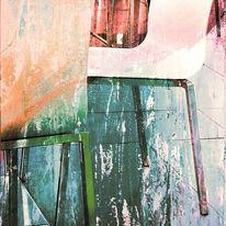 Acrylmalerei, Fotografie, Zeitgenössisch, Abstrakt
