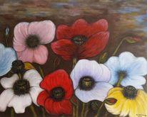 Blumenwiese, Wiese, Blumen, Natur