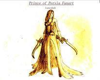 Herrscherin der zeit, Prince of persia, Fanart, Fantasie