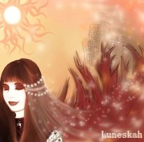 Sonne, Apokalypse, Fantasie, Frau
