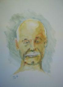 Menschen, Stimmung, Portrait, Vater